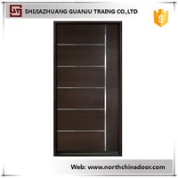 China Supplier Interior Solid Wooden Doors Design Doors Wooden Price