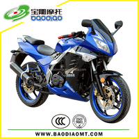 Baodiao New Sport Racing Motorcycle 200cc For Sale Manufacture Supply EEC EPA DOT