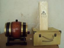 wooden crafts wine/beer packaging barrel
