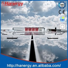Hanergy 30kw solar power plant for home use on flat roof