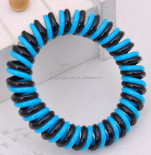 ALICE Double Plastic Phone Cord Hair Tie Hair Band