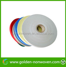 Short width and small roll pp spunbond non woven fabric