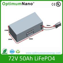 72v 50ah lithium ion battery for Electric rickshaws