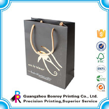 2015 the most fashionable shopping gift paper bag manufacturer