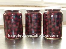 Factory price Natural pigment Canned Cherry, 425g Canned cherry pits, Chinese canned cherry