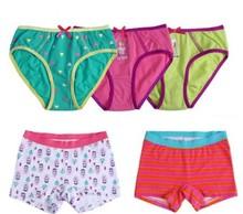 Cute children brief stock underpants/children underwear/kind underwear for girls