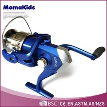 Series golden plastic steel spool wholesale spinning fishing reels made in china