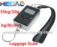 Protable Fishing and Luggage Scale 35kg Cheap Digital Pocket Scale