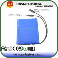 hot sale long cycle life rechargeable 12v lithium ion car battery