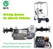 battery electric vehicles 5kw 72v ac motors driving kits