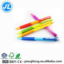 New 5270 plastic press ball-point pen Bright color ads ball-point pen