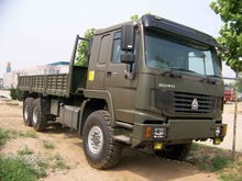 sinotruk.howo 6x6 6 wheel drive 371hp special cargo truck for sale