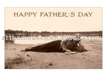happy father's day ,canvas printing art