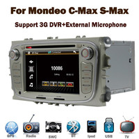 """3G Internet 7"""" Touch Screen Car DVD for ford mondeo S-max 3G GPS Bluetooth TV Radio Phonebook RDS steering wheel control Canbus"""