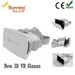 Best quality 3d vr headset for smart phone mobile 3d vr glasses