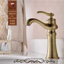 Single handle oil rubbed bronze bathroom sink faucet
