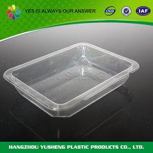Promotional customized portable plastic cake tray