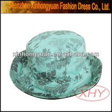 Bucket hat floppy bucket hat with flower bucket hat