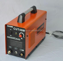 DC inverter, 110v/220v dual-voltage avaliable, high frequency and lightweight , portable 40amps plasma cutting machine