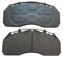 truck trailer spare parts ece-r90 emark certificated brake pads 29174 used bus