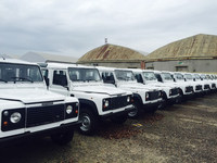 4X4 Land Rover 90 Ex Army
