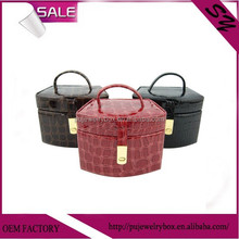 Professional manufacturer of luxury gift box leather cosmetic travel box