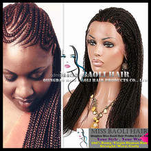 Alibaba Trade Assurance Paypal Accepted Natural Black Dyeable Virgin Indian Hair Full Lace Braided Wig