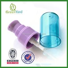 Skin Care PP Treatment Spray Pump with Cap Shampoo Bottle Pumps