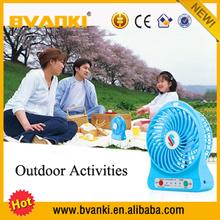 Best selling products in nigeria dc 5v plastic rechargeable usb led message fan small desk fan table fan