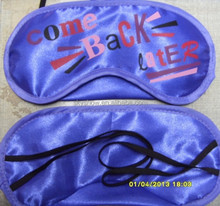 Hot Sale Good Quality Promotional Airlines Sleep Eye Mask