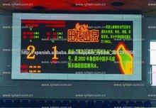 Nuevos productos p7.625/p10/p16 al aire libre a prueba de agua led variable informativo las señales de tráfico