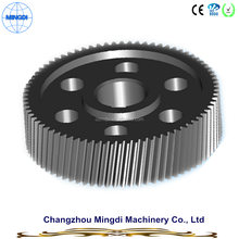 Motorcycle Engine Transmission Parts Steel Helical Gear / Helical Spur Gear