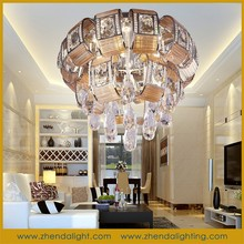 Modern Designer lamps high quality led crytal ceiling light for home with factory/best price