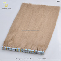 Trade Assurance Wholesale Price Top Quality 100 Human Hair tape hair extension type