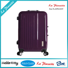 2014 guangzhou factory classic ABS luggage 3 piece trolley luggage set abs luggage