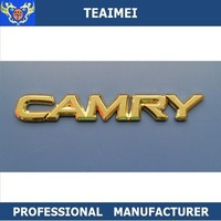 2015 new ABS plastic chrome Toyota car badge emblem for connected