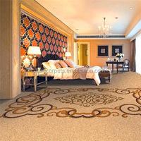 Custom Luxury Axminster Luxury Wool Carpet for Hotel Room, Guest room 006