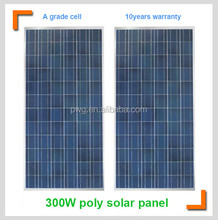A-grade cell high efficiency 300W PV solar panel price