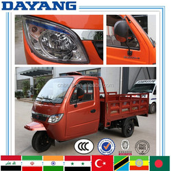 Africa closed cabin cargo motorized china motorcycle for sale