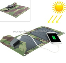 2015 hot selling 18V 5W portable small solar panel folding solar panel foldable