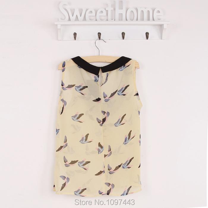 Блузка С Птичками С Доставкой