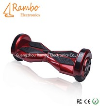 Factory price smart two wheels self balancing handsfree hover board with bluetooth speaker and colorful LED