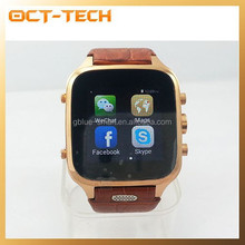 Cell phone watch Android 4.4,New dual core smart watch phone 1GB RAM