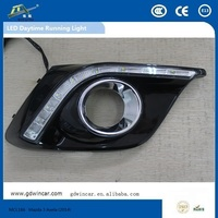 Wholesale Latest Led Auto Daytime Running Light Car Drl Automotive Led Drl For Mazda 3 Axela 2014 - 2015