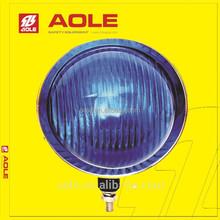 Motorcycle headlight blue light beacon for emergency