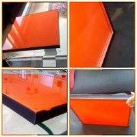back paint glass glossy lacobel glass with various colors (manufacturer)