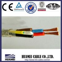 Low Voltage Cable copper core pvc insulated circular wire
