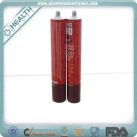 aluminum soft medical ointment filling tubes