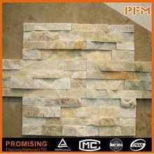Colorfast Natural Black Slate Stone Veneer Wall Panelling