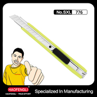 SXL-776 9MM PP Handgrip Easy-carrying Pocket Knife for Office Paper Cutting